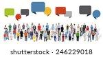 diverse diversity ethnic... | Shutterstock . vector #246229018