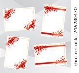 valentine cards | Shutterstock .eps vector #246230470