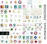 logo mega collection  abstract... | Shutterstock .eps vector #246234268
