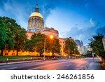 Georgia state capitol building...