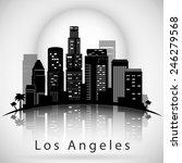 Los Angeles City Skyline....