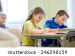 education  elementary school ... | Shutterstock . vector #246298159