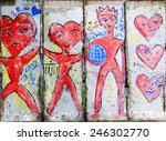 berlin germany may 22 old part... | Shutterstock . vector #246302770
