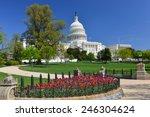 washington dc in spring   us... | Shutterstock . vector #246304624