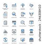 personal   business finance... | Shutterstock .eps vector #246308410