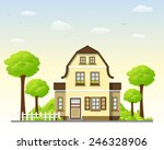 country house | Shutterstock .eps vector #246328906