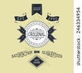 hand lettered catchword vintage ...   Shutterstock .eps vector #246334954