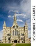 salisbury cathedral  wiltshire | Shutterstock . vector #24633553