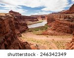 White Rim Trail In Canyonlands...