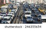 istanbul  turkey   january 22...   Shutterstock . vector #246355654