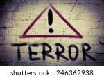 no terror concept   Shutterstock . vector #246362938