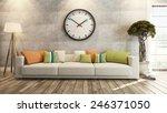 living room interior design 3d... | Shutterstock . vector #246371050