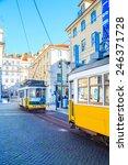 Постер, плакат: LISBON PORTUGAL DECEMBER