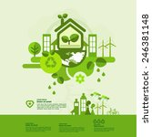 let's save the world   Shutterstock .eps vector #246381148