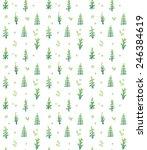 plant pattern | Shutterstock . vector #246384619