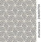 vector seamless pattern. modern ... | Shutterstock .eps vector #246404704