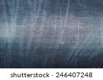 Blue Denim Texture  Background...