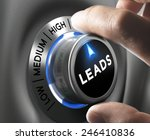 leads button pointing  high... | Shutterstock . vector #246410836