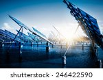 future electrical production... | Shutterstock . vector #246422590