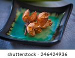 aromatic dry flowers in an... | Shutterstock . vector #246424936