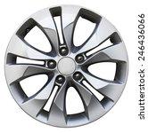 car wheel  car alloy rim on... | Shutterstock . vector #246436066