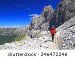 approach trail to via ferrata ... | Shutterstock . vector #246472246
