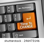 keyboard illustration with time ... | Shutterstock . vector #246473146