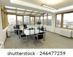 modern office interior in... | Shutterstock . vector #246477259