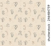 dry winter grass | Shutterstock .eps vector #246484759