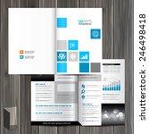 white brochure template design... | Shutterstock .eps vector #246498418