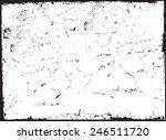 grunge  frame.distress frame...   Shutterstock .eps vector #246511720