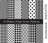 Black And White Fashion Prints...