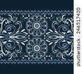 seamless grunge pattern for... | Shutterstock .eps vector #246517420
