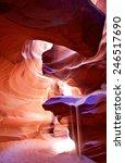 beautiful colors at upper... | Shutterstock . vector #246517690
