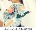 interior design and home... | Shutterstock . vector #246522370