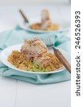 Chicken Cordon Bleu With Quinoa
