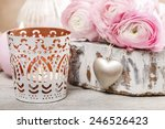 Romantic Candle Holder And...