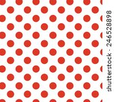 Classic Vintage Red Dots...