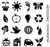 Environmental Icons   Set Of...