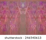 a soft yet vibrant abstract... | Shutterstock . vector #246540613