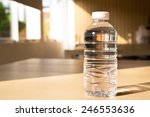 bottle of water  with light and ... | Shutterstock . vector #246553636