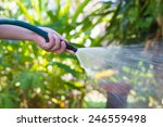 Working Watering Garden From...