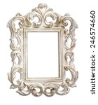 antique victorian style frame.... | Shutterstock . vector #246574660
