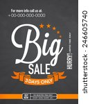 big sale with limited time... | Shutterstock .eps vector #246605740