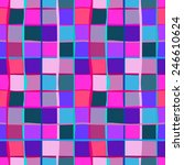 seamless bold pattern with wide ... | Shutterstock . vector #246610624