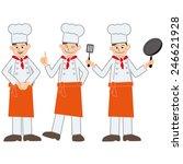 cook | Shutterstock . vector #246621928