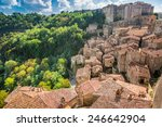 View Of A Green Valley In...