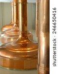 big pot brewery boiler beer... | Shutterstock . vector #246650416