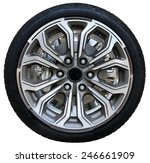 design pattern of car wheel ... | Shutterstock . vector #246661909