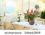 Terrace  Of A Restaurant With...